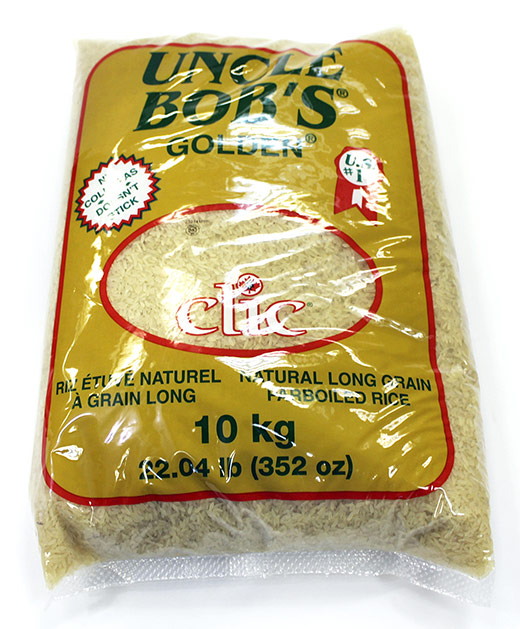 Uncle Bob's Parboiled Rice 10 Kg