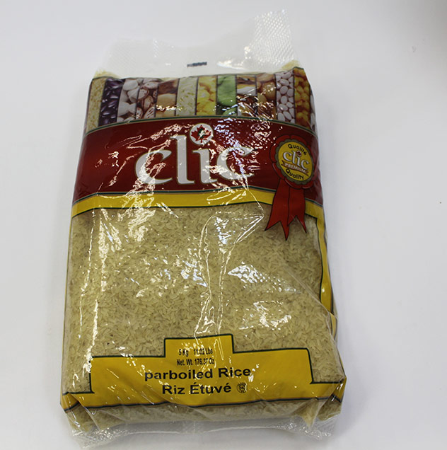 Clic US #1 Parboiled Rice 5 Kg