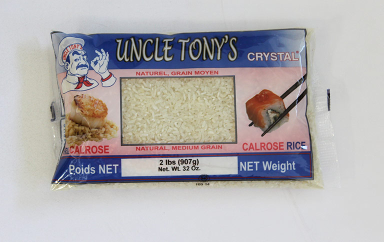 Uncle Tony's Calrose Rice 12/2 lbs