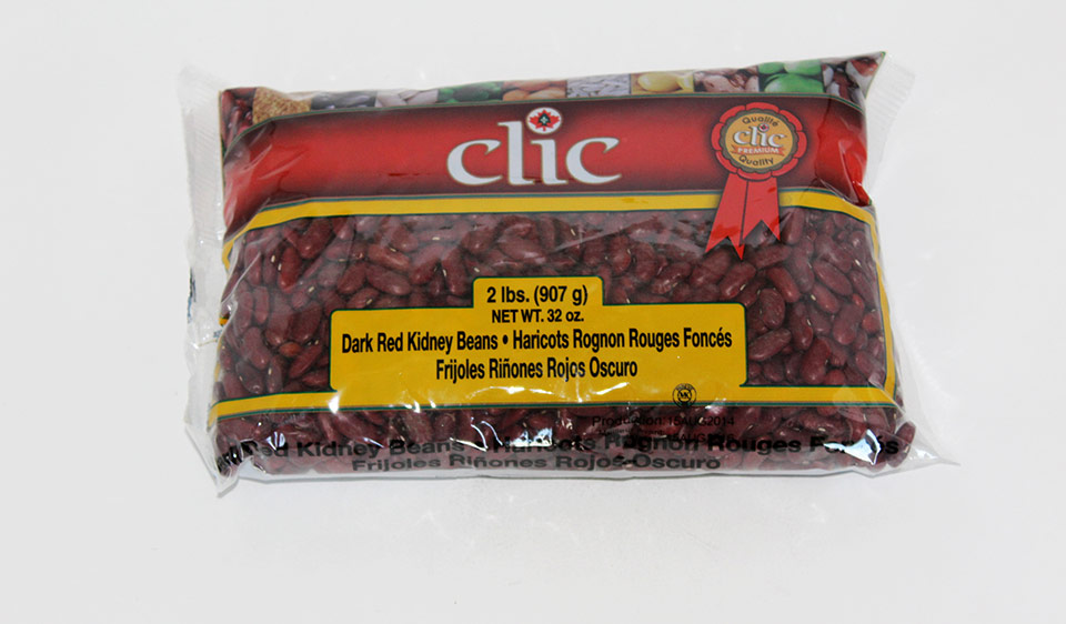 Clic Dark Red Kidney Beans 12/2 Lbs
