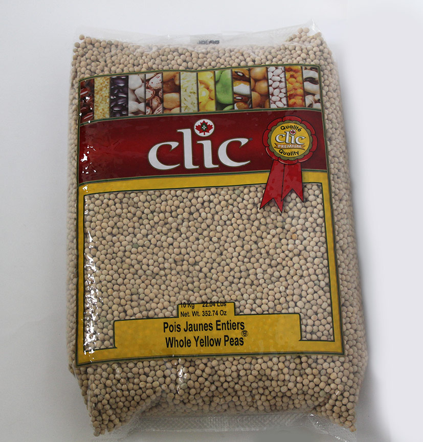 Clic Whole Yellow Peas 10 Kg