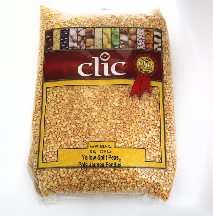 Clic Yellow Split Peas 10 Kg
