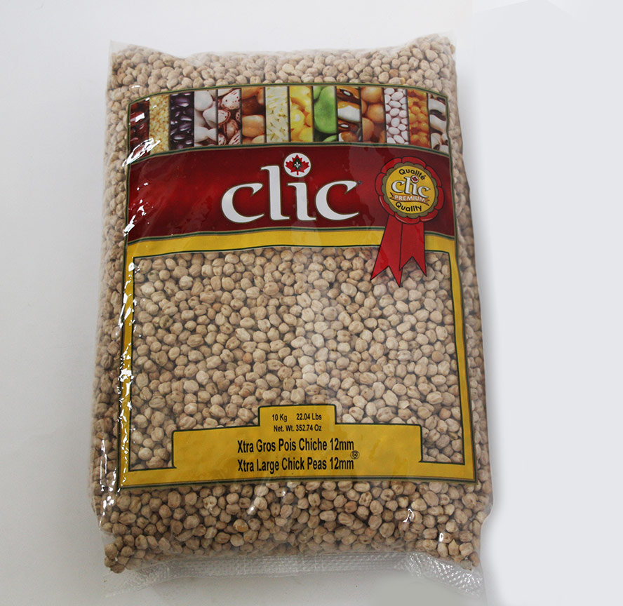 Clic Xtra Large Chick Peas 12mm 10 Kg