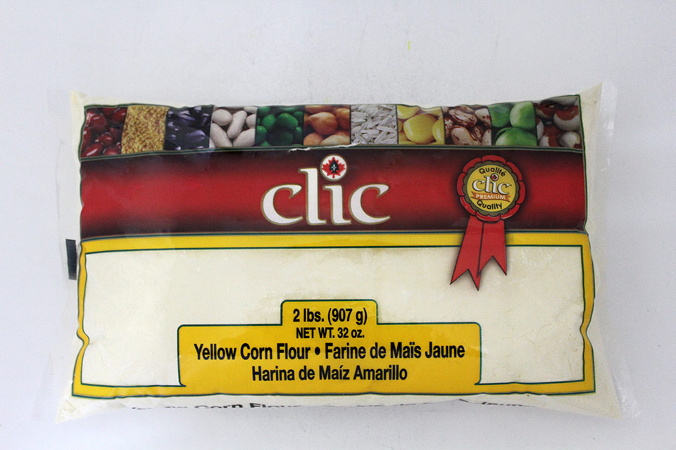 Clic Yellow Corn Flour #600 12/2 Lbs