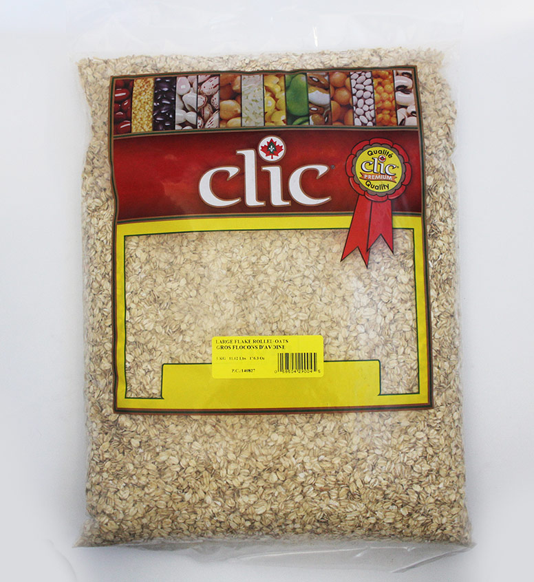 Clic Large Flake Rolled Oats 5 Kg
