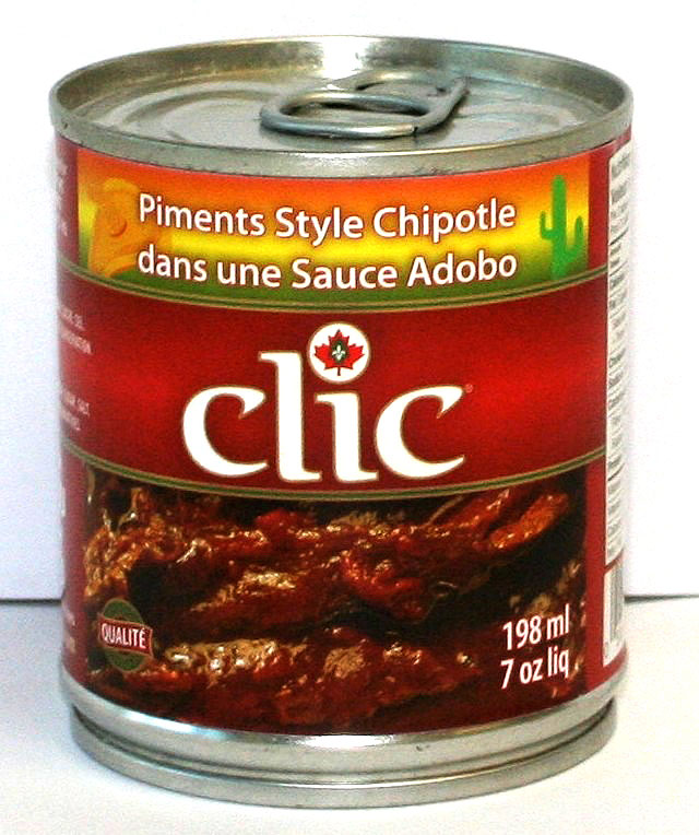 Clic Chipotle Peppers 24/7 Oz