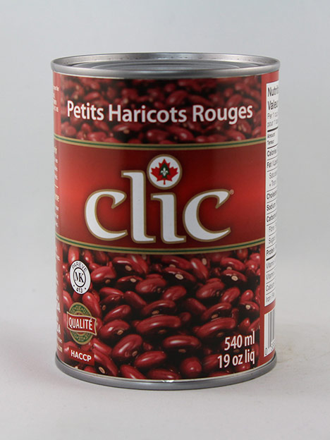 Clic Small Red Beans 24/19 oz